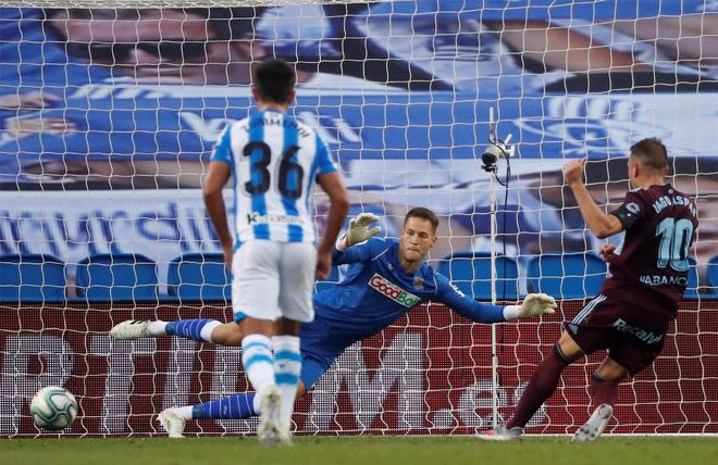 La Real Sociedad no ha conseguido una victoria desde el regreso de LaLiga tras el parón
