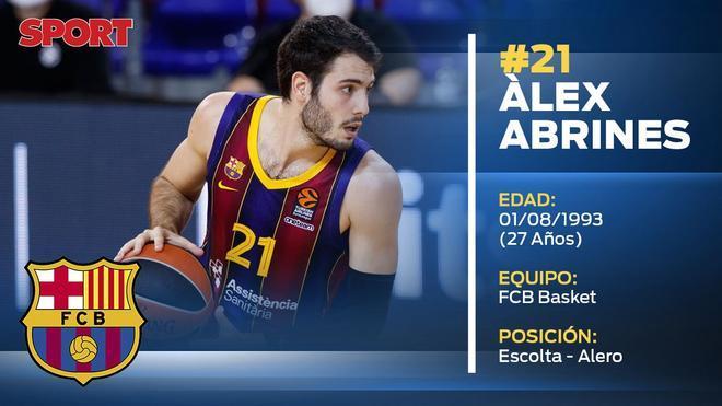 Álex Abrines (Barça Basket)