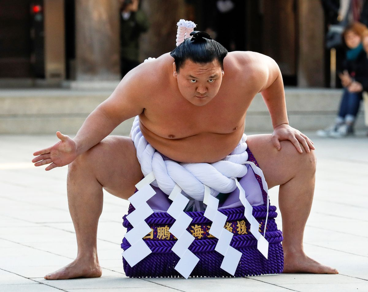 Hakuho, la gran estrella del sumo