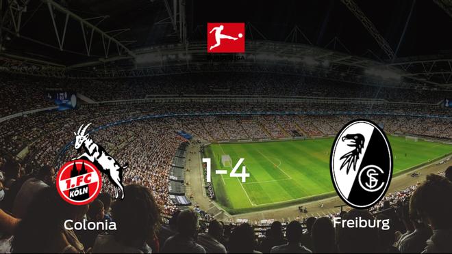 Goleada del SC Freiburg por 1-4 ante el Colonia