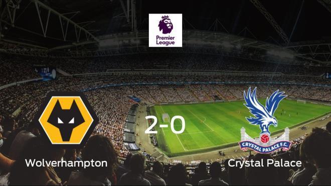 Tres puntos para el equipo local: Wolverhampton Wanderers 2-0 Crystal Palace