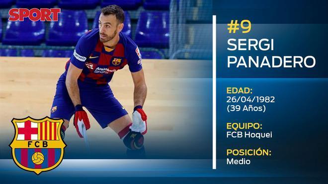 Sergi Panadero (FC Barcelona hoquei)