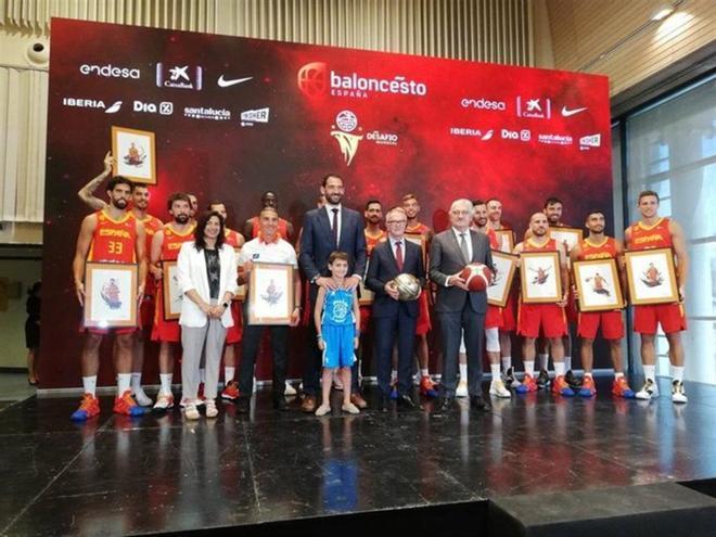 La selección de Scariolo ha presentado su gira Desafío Mundial , preparatoria para China