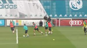 El Real Madrid se prepara para la Juve