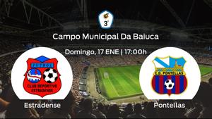 Previa del partido: CD Estradense - Pontellas