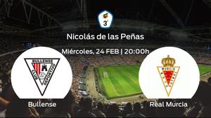 Jornada 15 de la Tercera División: previa del partido CD Bullense - Real Murcia B