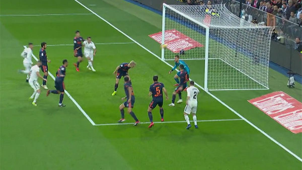 Daniel Wass marcó un golazo para el Real Madrid