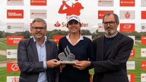 La amateur francesa consigue su primera victoria entre profesionales