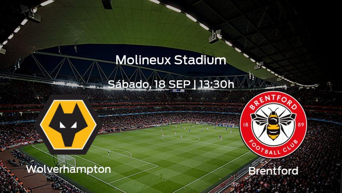 Previa del encuentro: Wolverhampton Wanderers - Brentford
