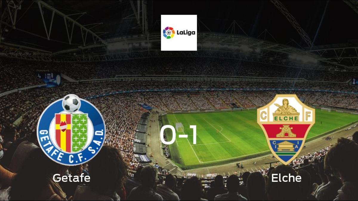 Elche celebrate 1-0 victory against Getafe