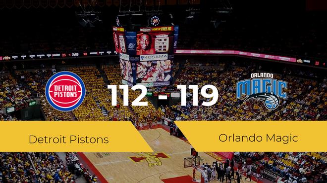 Orlando Magic se impone por 112-119 frente a Detroit Pistons