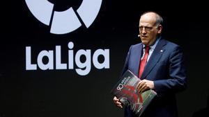 Javier Tebas, presidente de la Liga de Fútbol Profesional (LFP)