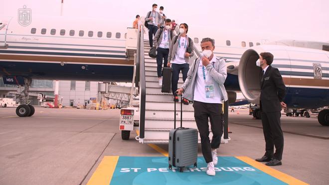 Así ha sido la llegada de España a San Petesburgo