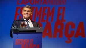 Laporta, precandidato a las elecciones del Barça