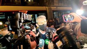 El abogado de Ponti informa de que no tendrá que declarar este martes