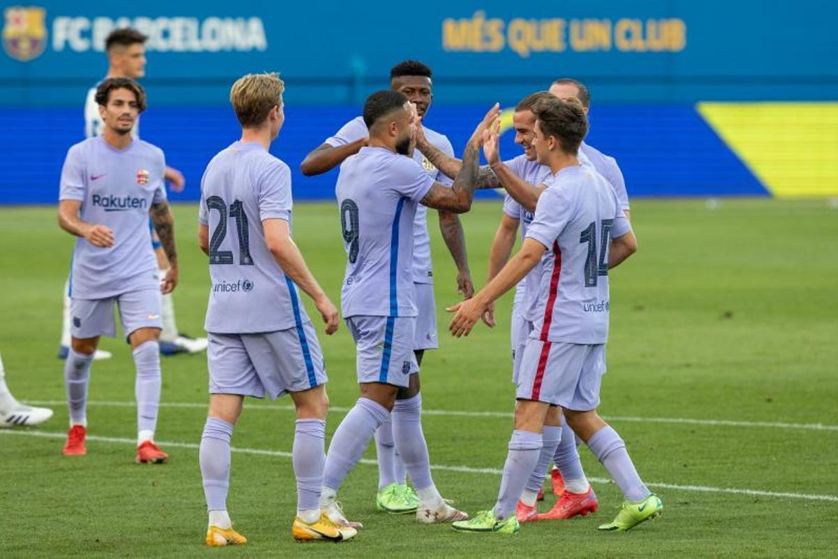 El Barça se impuso por 3-1 en su segundo test de pretemporada ante el Girona: Resumen y goles del partido