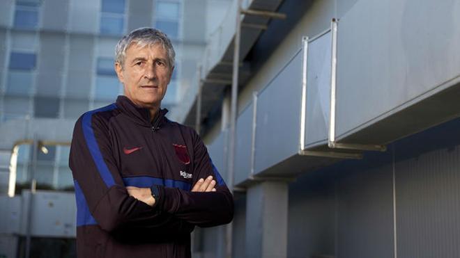 Quique Setién: El Barça se había alejado del estilo