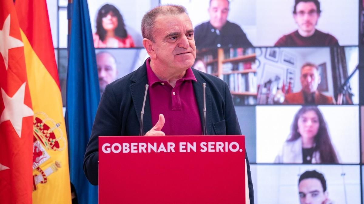 José Manuel Franco, presidente del CSD