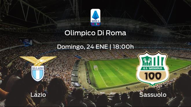 Previa del partido de la jornada 19: Lazio contra Sassuolo