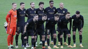 El 1x1 del FC Barcelona contra el Dinamo de Kiev