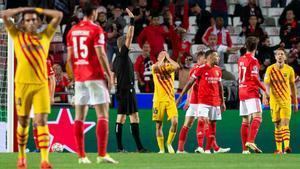 Lisboa vuelve a hacer daño al Barça: el resumen de la goleada del Benfica