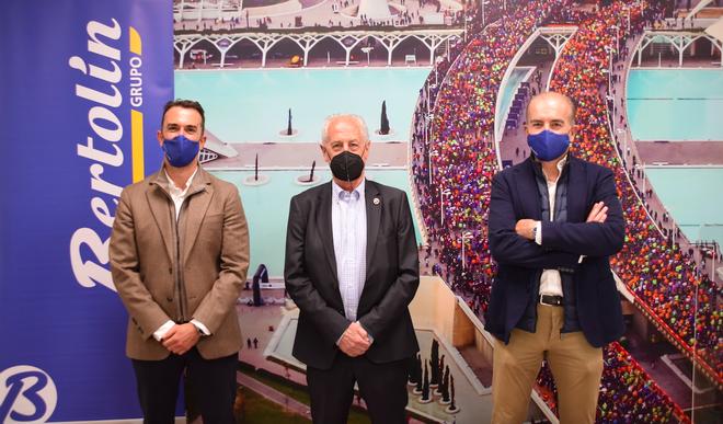 Grupo Bertolín con el  Medio y Maratón Valencia los próximos cuatro años