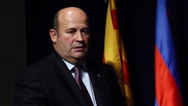 Òscar Grau, exCEO del FC Barcelona