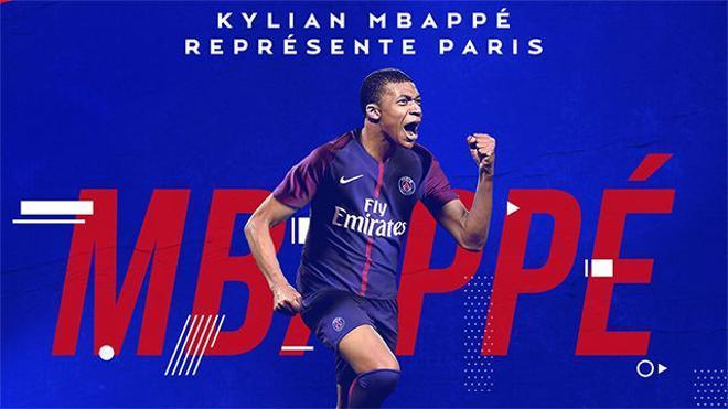 Mbappé ya es nuevo jugador del PSG