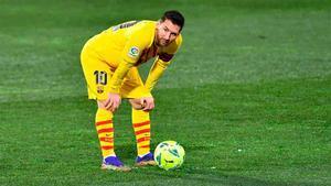 Messi ha alcanzado los 500 partidos con el Barça en LaLiga