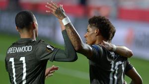 El Granada deberá remontar en Old Trafford: el resumen de la victoria del Manchester United en Los Cármenes
