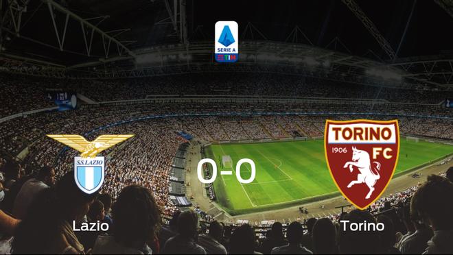 La Lazio y el Torino firman un empate sin goles (0-0)