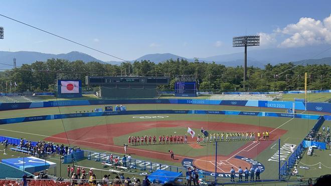Una de las instalaciones de los Juegos Olímpicos