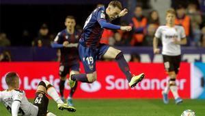 Carlos Clerc espera que el Levante dé la campanada este domingo en el Camp Nou