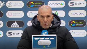 Zidane: ¿Qué quieres, que abandonemos la temporada?