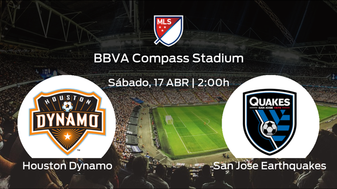 Previa del encuentro: el Houston Dynamo arranca el torneo recibiendo al San Jose Earthquakes