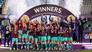 ¡Campeonas! Este año sí se hizo historia. Así celebro el Barça la Champions League