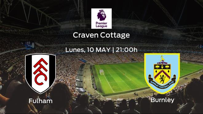 Previa del encuentro de la jornada 35: Fulham contra Burnley