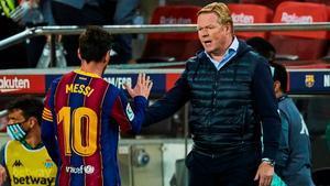 Koeman: El Barça siempre será mejor equipo con Messi