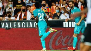 Vinicius volvió a ser clave para el Real Madrid