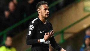El gesto de Neymar fue muy criticado