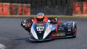 Joaquim Fenoy, en acción en un circuito de Francia
