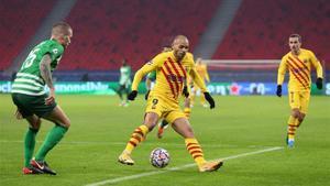 Martin Brathwaite salió muy satisfecho de su actuación ante el Ferencvaros