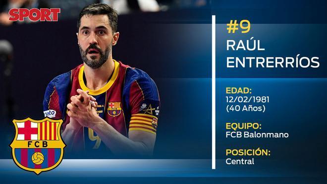 Raúl Entrerríos (FC Barcelona balonmano)