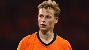 De Jong, durante un partido de Países Bajos en la Eurocopa