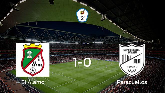 El Álamo se lleva tres puntos tras derrotar 1-0 al Paracuellos Antamira