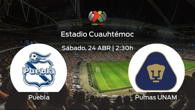 Previa del encuentro: el Puebla recibe al Pumas UNAM en la decimosexta jornada