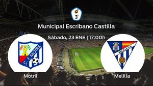 Previa del partido: el Motril recibe en su feudo al Melilla CD