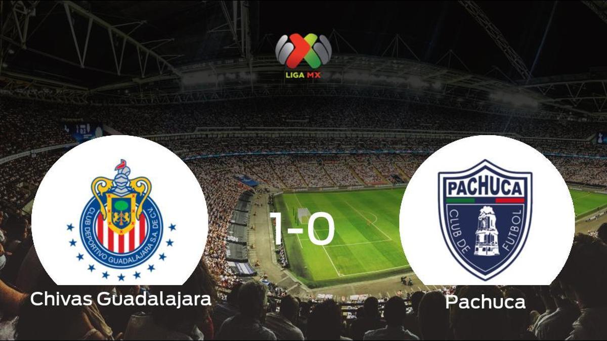 El Chivas Guadalajara logra una ajustada victoria en casa ante el Pachuca (1-0)