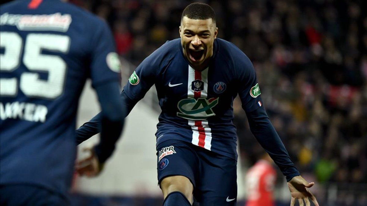 Mbappé marcó en la goleada del PSG por 1-5 al Dijon