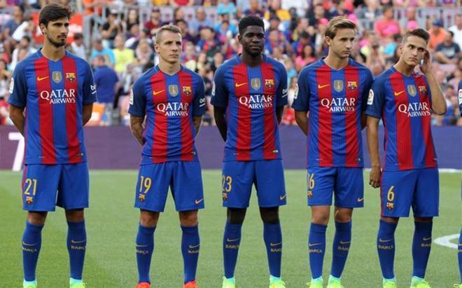 Los fichajes del Barça que se presentaron en el Gamper